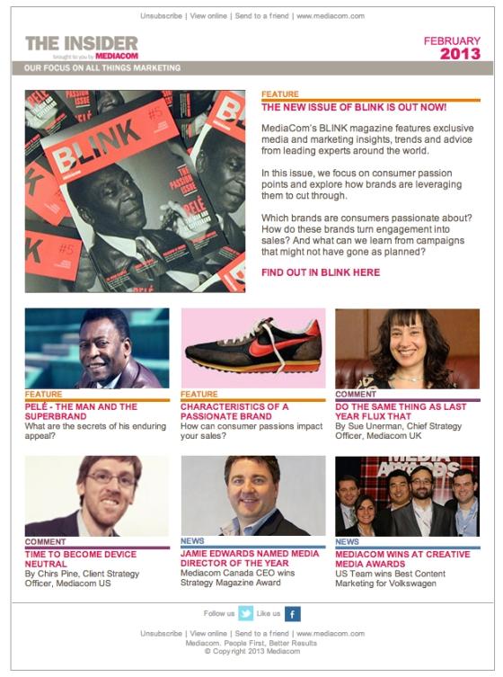 Mediacom Newsletter - February 2013