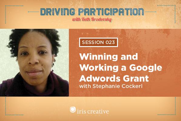 Stephanie Cockerl, Google AdWords Grant Specialist, NYC