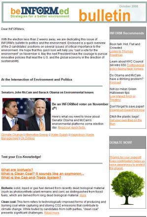 Inform Newsletter 2008