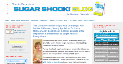 Book Author: Sugar Shock Blog